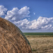 clouds and hay by aecasey