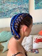27th Jul 2019 - Blue braids.