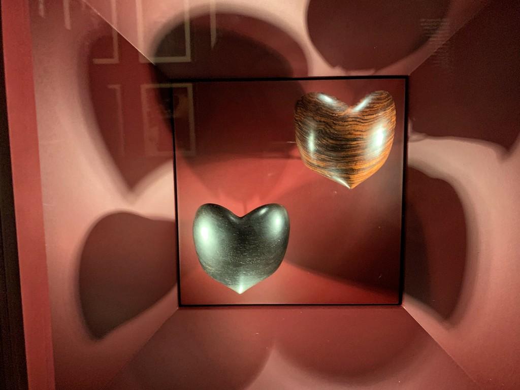Two heart bracelets by cocobella