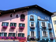 28th Jul 2019 - Colourful buildings in Kitzbuehl
