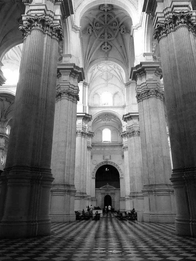 Granada Cathedral Framed by brigette
