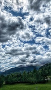 30th Jul 2019 - Clouds gathering over the mountains