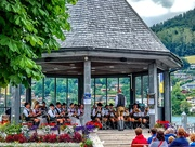 31st Jul 2019 - Rottach Egern band stand