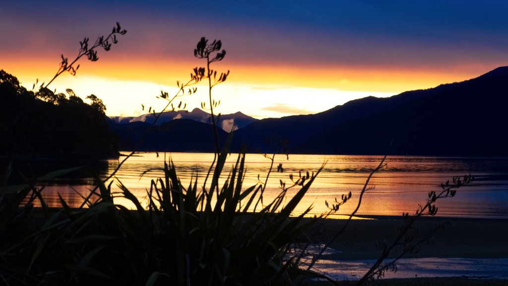 Unexpected Sunset by kiwinanna