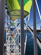 31st Jul 2019 - Lunar Park Ferris Wheel