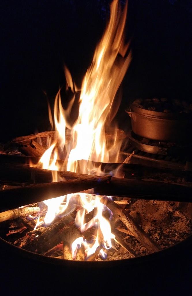 Dessert by Campfire by harbie