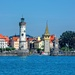 Harbour entrance to Lindau  by ludwigsdiana