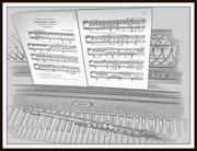 3rd Aug 2019 - Monlight Sonata in BW