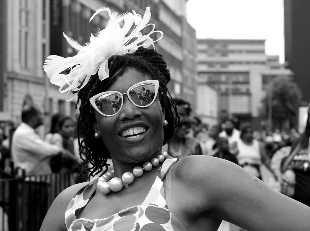 Leicester Caribbean Carnival  Smile 2 by phil_howcroft