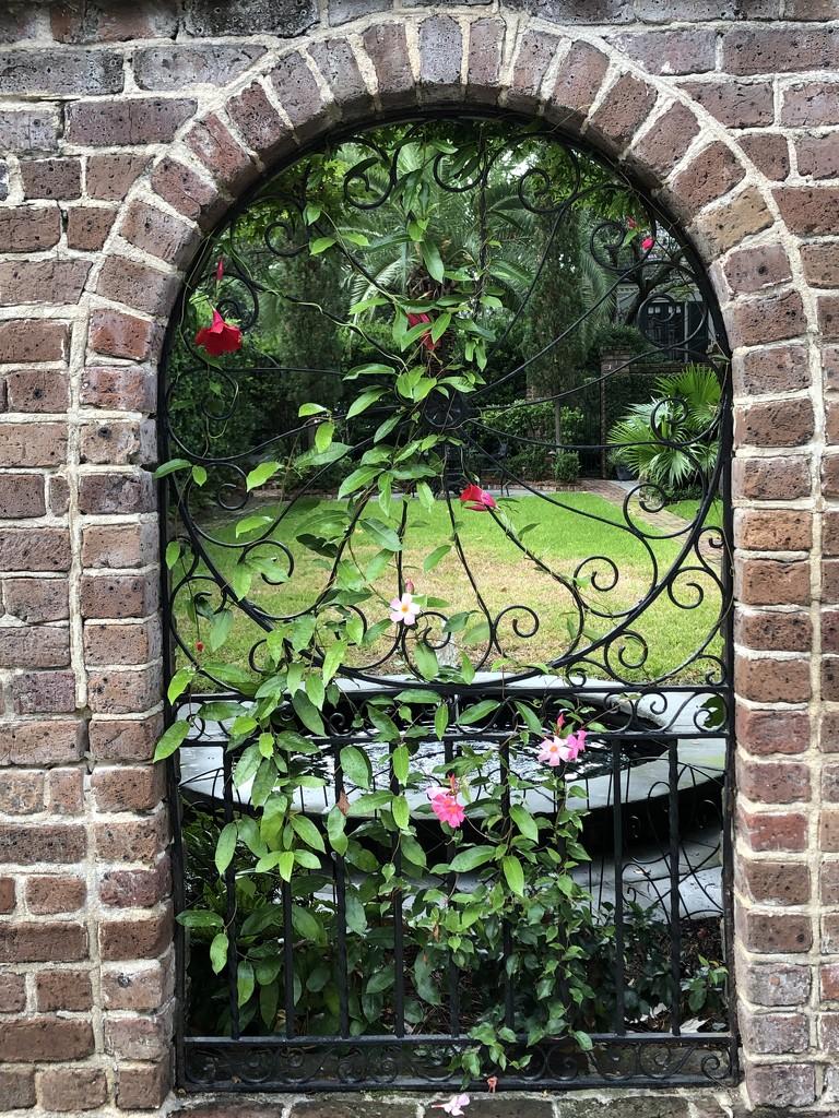 Garden gateway, Charleston by congaree