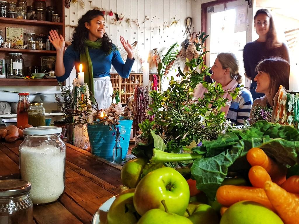 Zayaan's fermentation workshop by eleanor