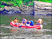 4th Aug 2019 - Rubber Rafting on the Delaware