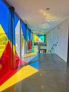4th Aug 2019 - A half colored corridor.