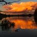Sunset over Sonstraaldam by mv_wolfie