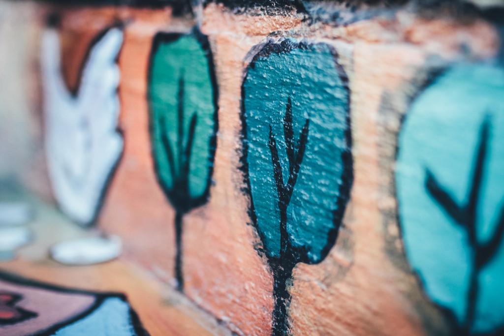 Diner Bench Art by mamazuzi