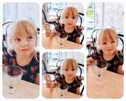 7th Aug 2019 - Took Abigail for an ice cream while babysitting. From her expressions i think she was impressed.