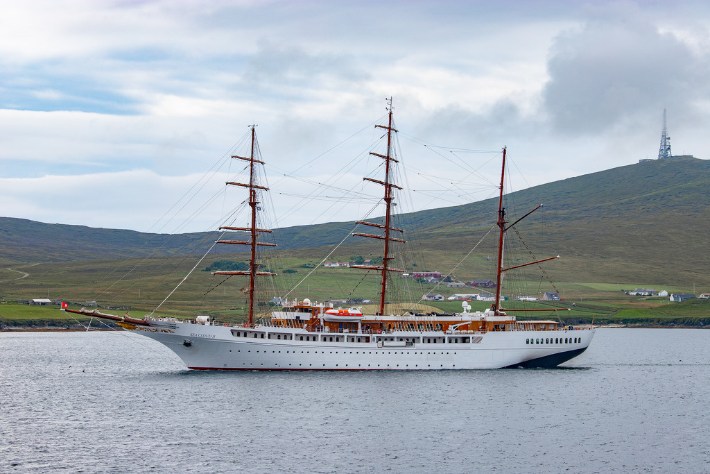 Sea Cloud II by lifeat60degrees