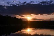 1st Aug 2019 - Sunset Over Webb Lake