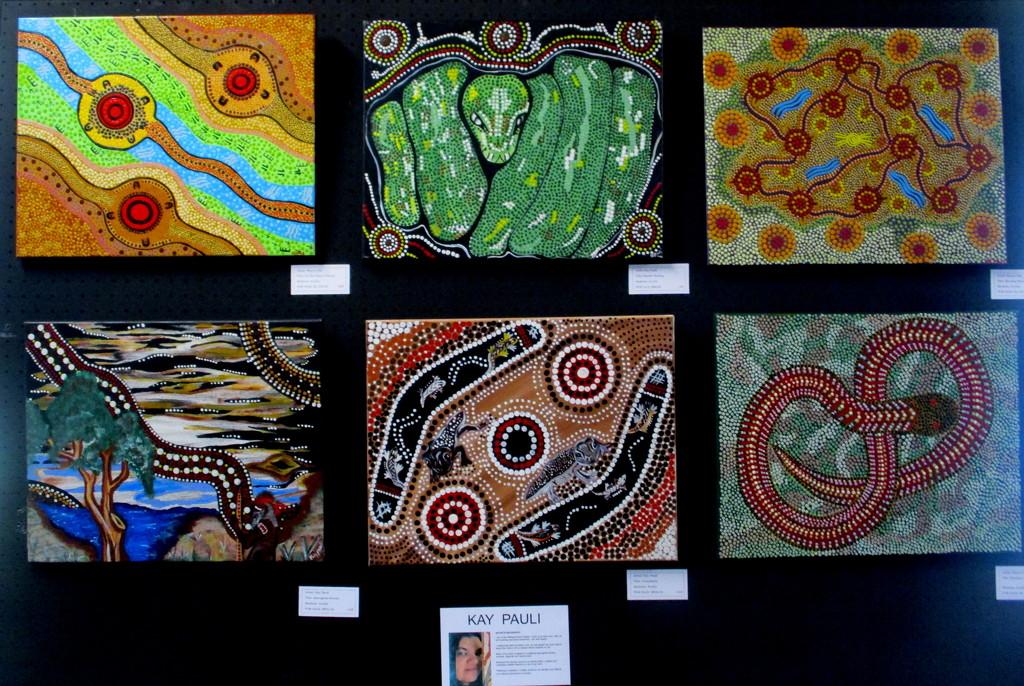 Australian Aboriginal ART  Kennilworth by 777margo