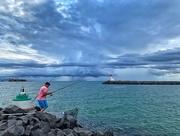 5th Aug 2019 - Fisherman.