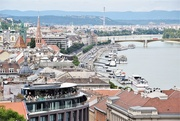 8th Aug 2019 - View of the Danube and the Buda Quay