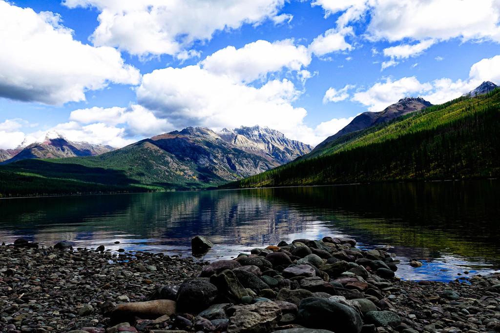Kintla Lake -What a Beauty! by milaniet