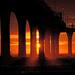 Sunrise New Brighton pier, Christchurch NZ by maureenpp