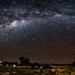 The Milky Way in the desert by pusspup