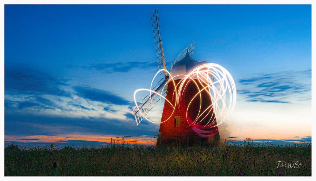 Halnaker Windmill by paulwbaker