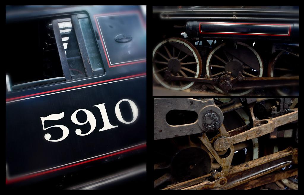 Locomotive Steam 5910 by annied