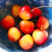 9th Aug 2019 - Rainier Cherries