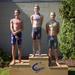 Div 4 boys 50m Fly podium