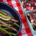 Farm Fresh Beans and Okra