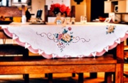 10th Aug 2019 - Tablecloth