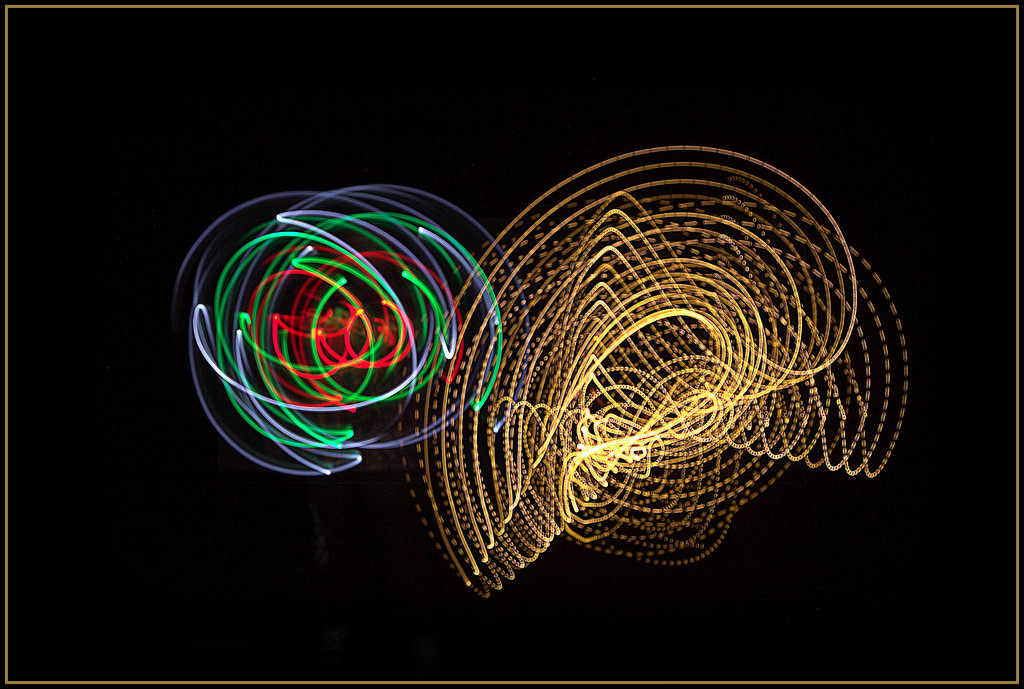 Light painting by dide