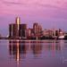 Detroit Morning Skyline  by dridsdale