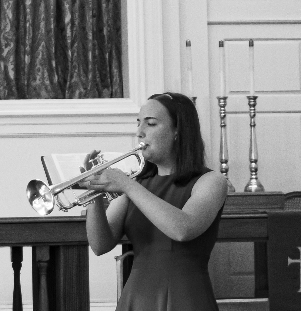 Anna's Trumpet Recital by randystreat