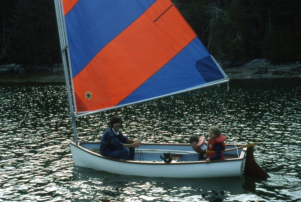 Boat cat series #7 by sailingmusic