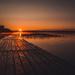 camping sunrise by adi314