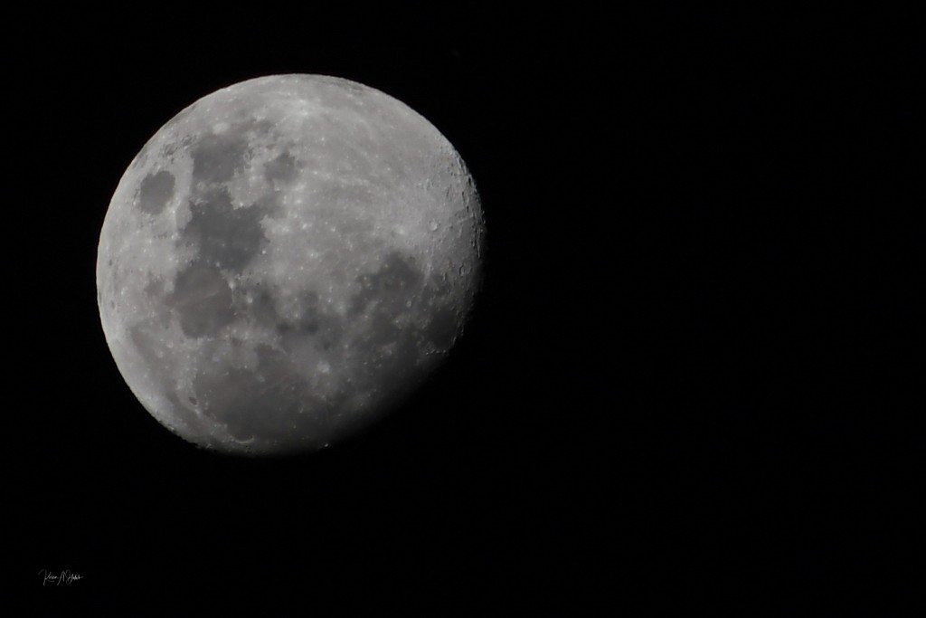 Tonights Moon by kgolab