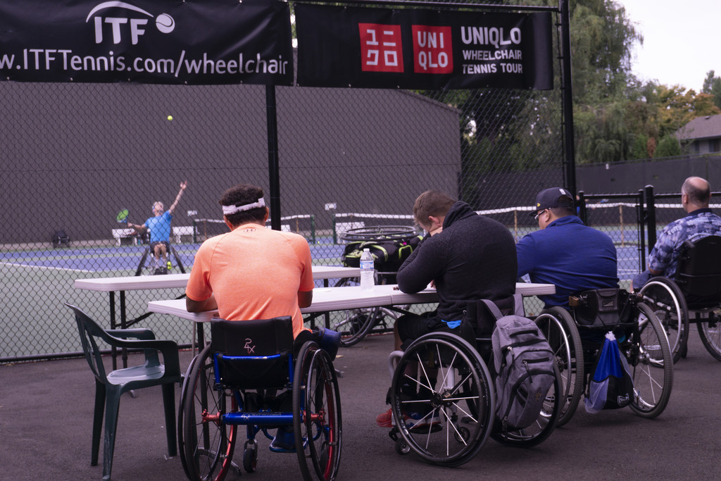 Wheelchair Tennis (4) by granagringa