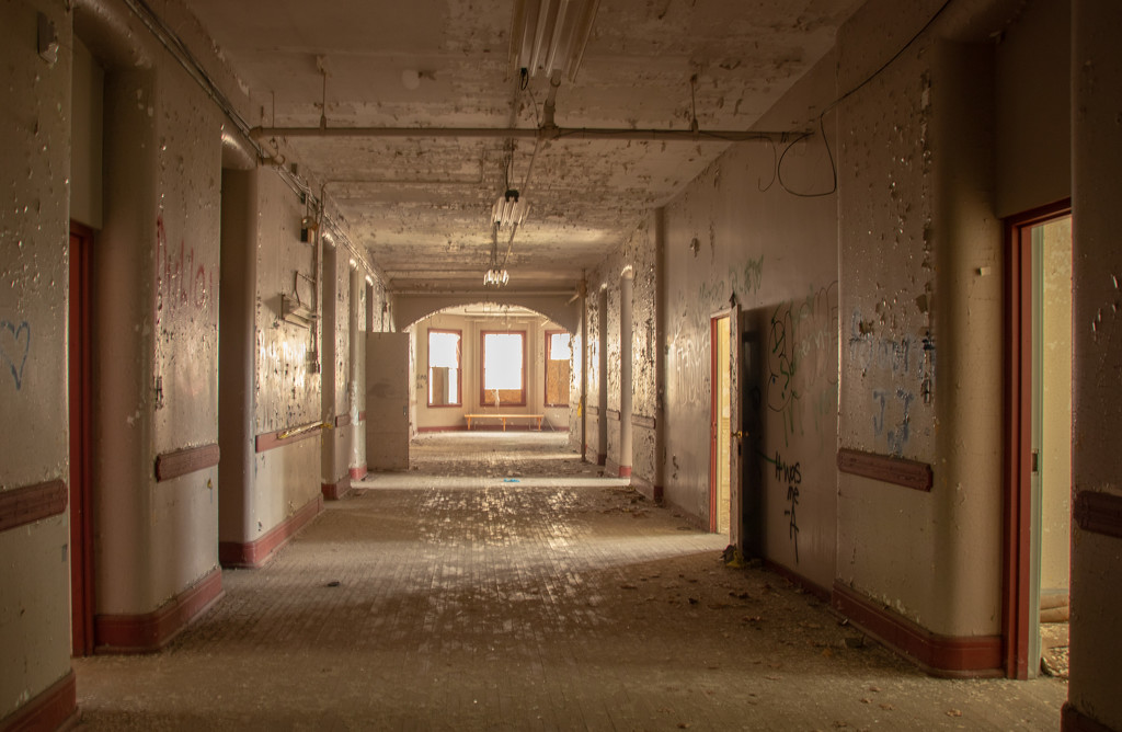 Traverse City State Hospital by susanharvey