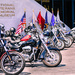 Veteran's Bikes on Display