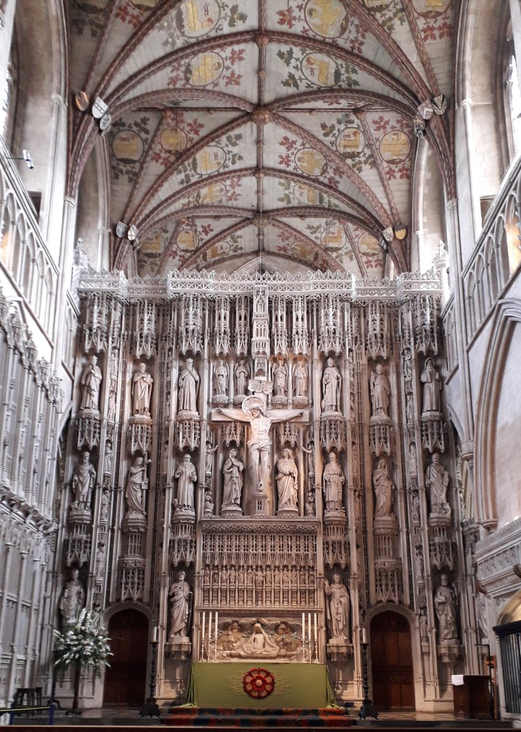 Inside St Albans Cathedral by mave