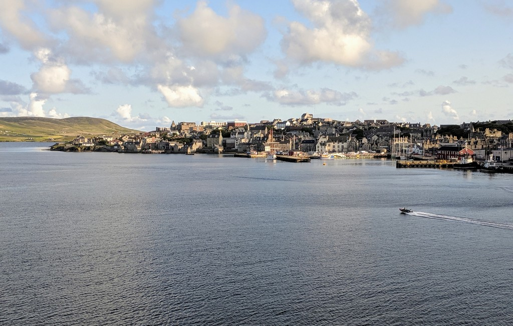 Goodbye Shetlands by ellida