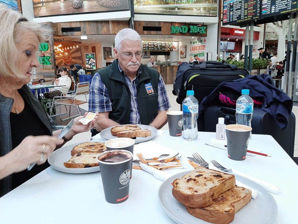 Food At the Airport by mozette