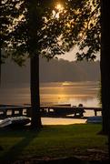13th Aug 2019 - Sunset at the lake...