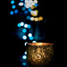 Candlelight and bokeh