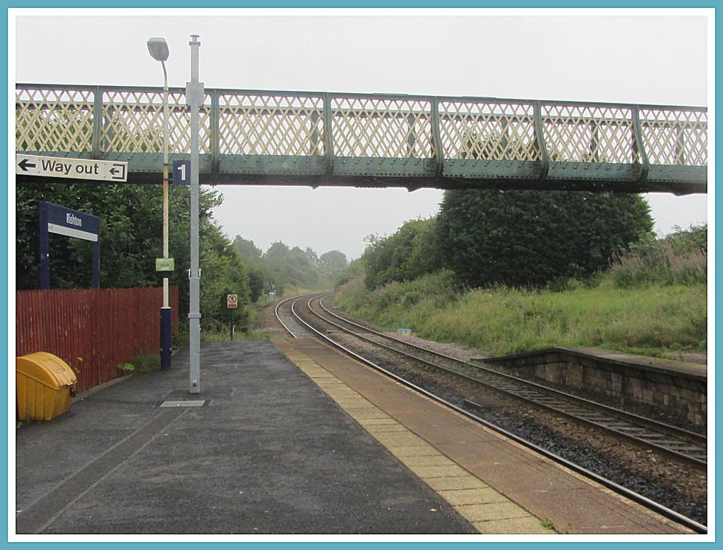 Rishton railway station bridge. by grace55