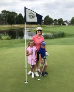 14th Aug 2019 - Birthday golfing with grandkids